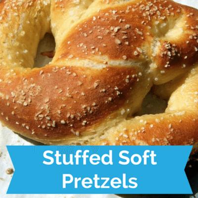 The Chew: Stuffed Soft Pretzel Party Recipe