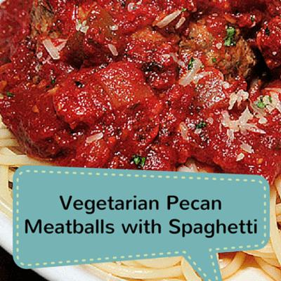 The Chew: Spaghetti & Pecan Meatballs Recipe