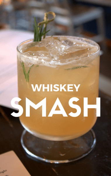 Michael Symon put together a refreshing Whiskey Smash with the bright ...