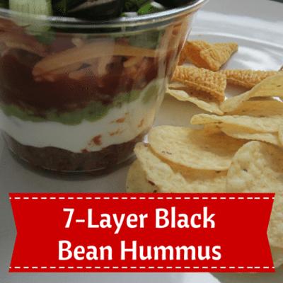 Rachael Ray: 7-Layer Black Bean Hummus Recipe