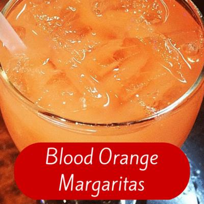 The Chew: Blood Orange Margarita Punch Recipe