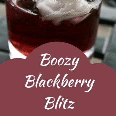 The Chew: Boozy Blackberry Blitz Recipe