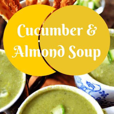 The Chew: Cucumber & Almond Soup Recipe