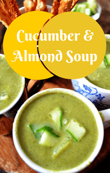 The Chew: Cucumber & Almond Soup Recipe