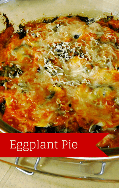 The Chew: Eggplant Pie Recipe