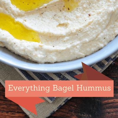 Rachael Ray: Everything Bagel Hummus Recipe