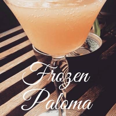 The Chew: Frozen Paloma Palooza Recipe