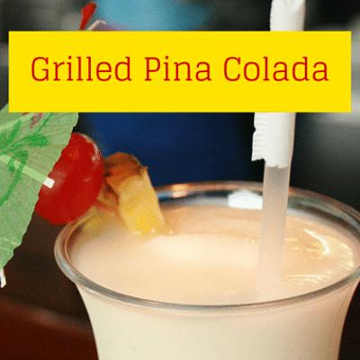 The Chew: Grilled Pina Colada Recipe