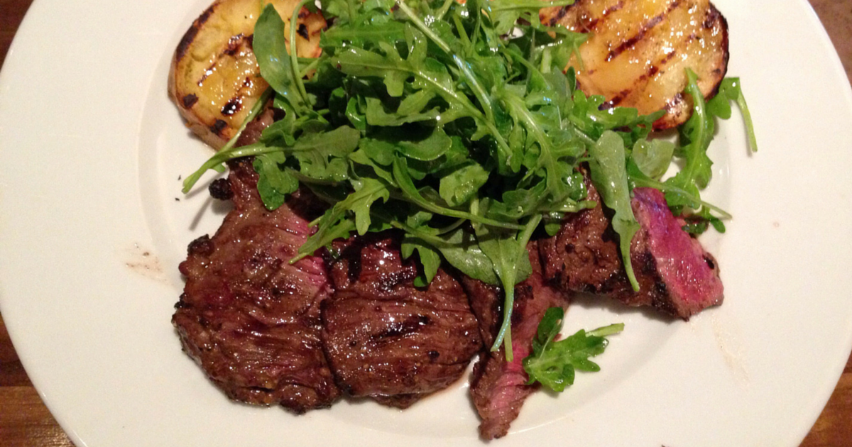 The Chew: Grilled Skirt Steak With Arugula Salad Recipe