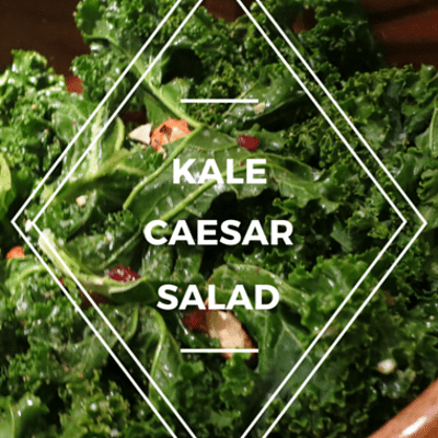 The Chew: Kale Caesar Salad With Grilled Parmesan Crostini
