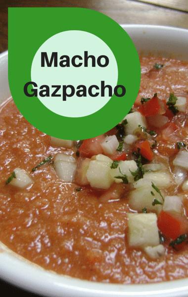 Rachael Ray: Macho Gazpacho With Margarita Shrimp Recipe