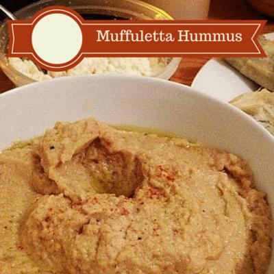 Rachael Ray: Muffuletta Hummus Recipe