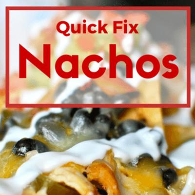The Chew: Quick Fix Nachos Recipe