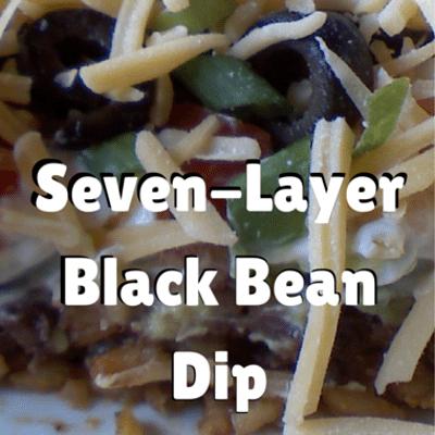 Rachael Ray: Seven-Layer Black Bean Dip Recipe