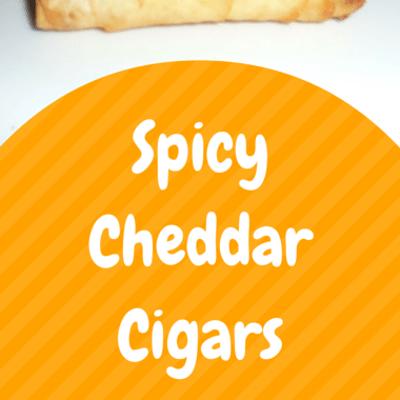 The Chew: Spicy Cheddar Cigars Recipe