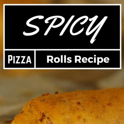Rachael Ray: Spicy Pizza Rolls Recipe