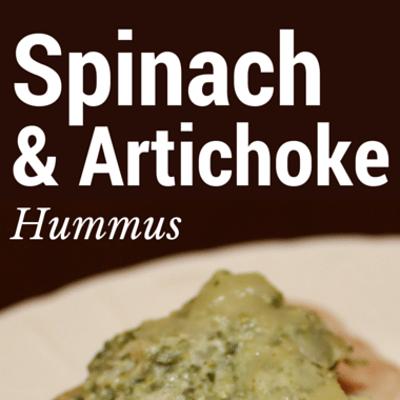 Rachael Ray: Spinach & Artichoke Hummus Recipe