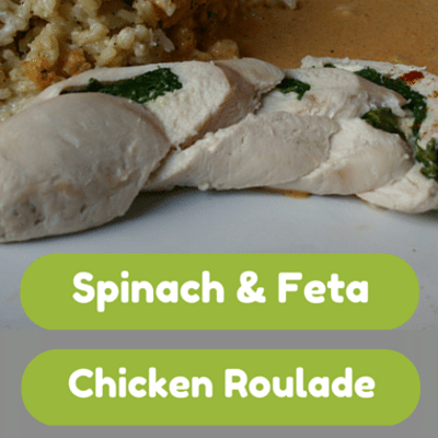 Spinach And Blue Cheese Chicken Roulades Recipe — Dishmaps