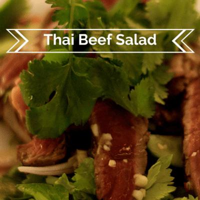 Rachael Ray: Thai Beef Salad Recipe