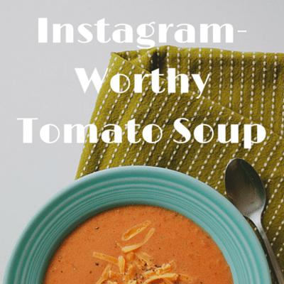 The Chew: Picture-Perfect Tomato Soup Recipe