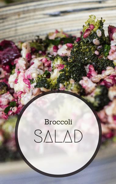 The Chew: Broccoli Salad Recipe