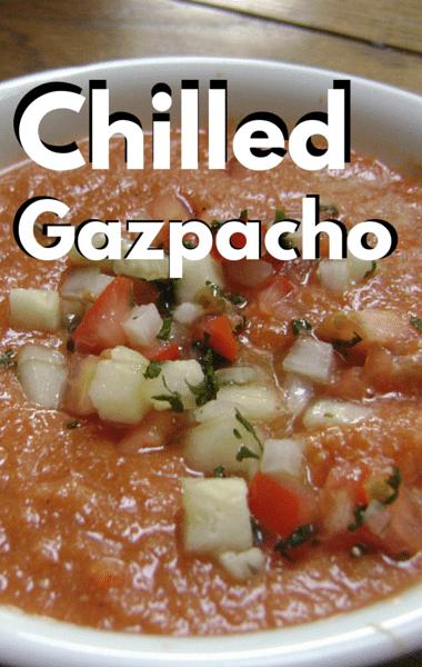 Rachael Ray: Curtis Stone Chilled Gazpacho Recipe