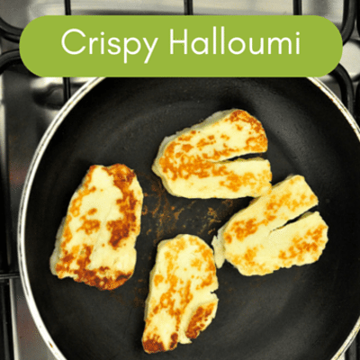 The Chew: Crispy Halloumi With Avocado Salsa Recipe