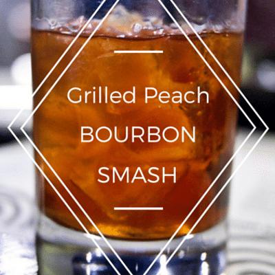 The Chew: Grilled Peach Bourbon Smash Recipe