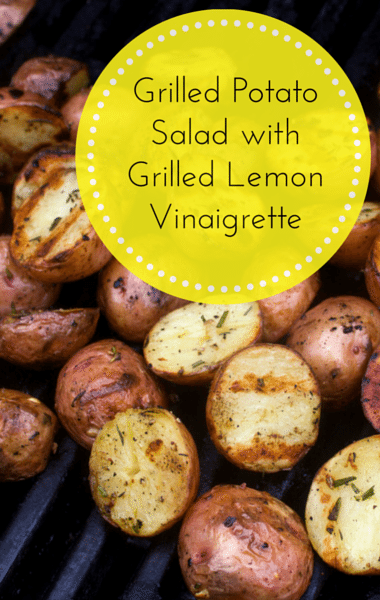 The Chew: Simple Grilled Potato Salad + Grilled Lemon Vinaigrette
