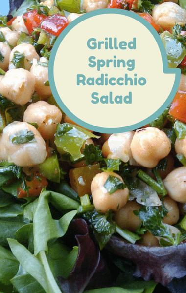The Chew: Grilled Spring Radicchio Salad Recipe