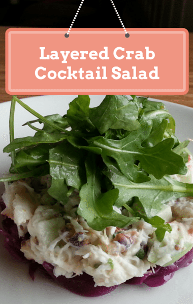 The Chew: Layered Crab Cocktail Salad Recipe