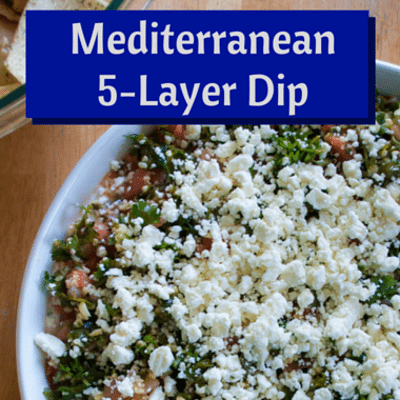 The Chew: Mediterranean 5-Layer Dip Recipe