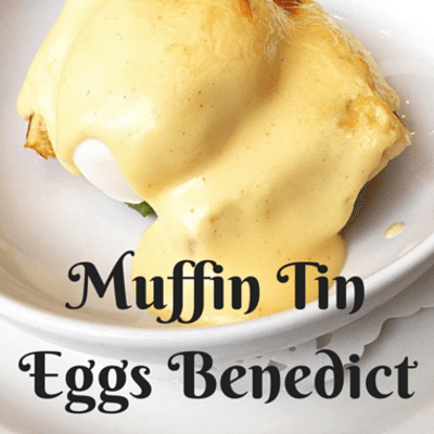 The Chew: Muffin Tin Eggs Benedict Recipe