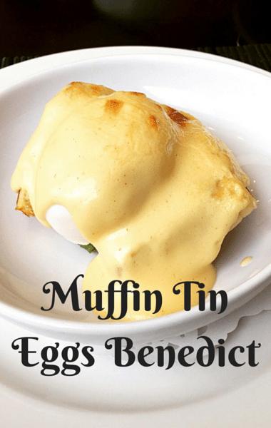 The Chew: Muffin Tin Eggs Benedict Recipe
