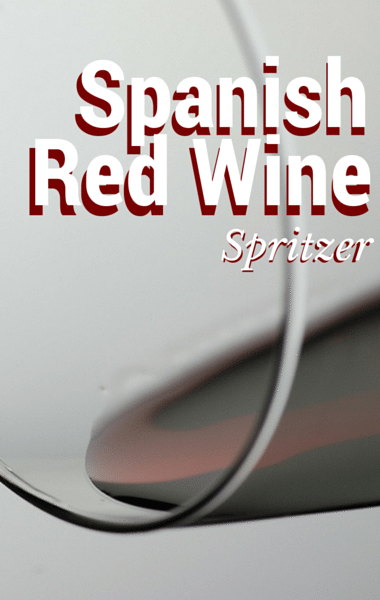 The Chew: Spanish Red Wine Spritzer Recipe