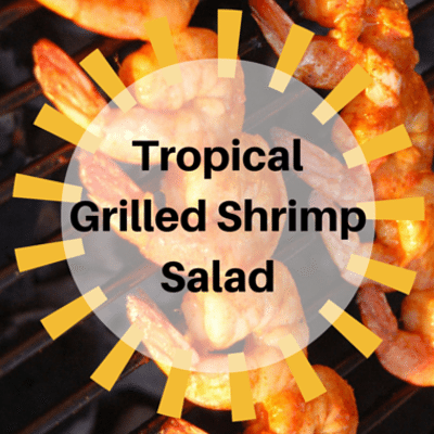 The Chew: Tropical Grilled Shrimp Salad Recipe