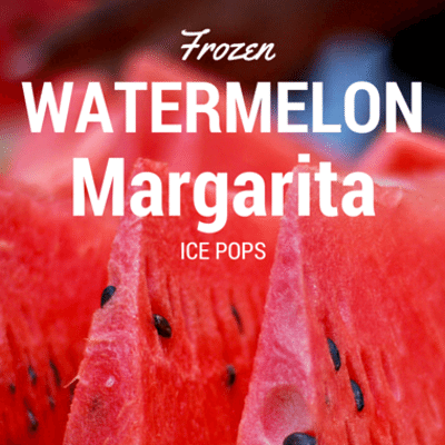 Rachael Ray: Frozen Watermelon Margarita Ice Pops Recipe