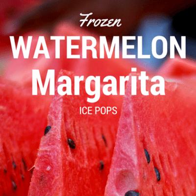 Rachael Ray: Frozen Watermelon Margarita Ice Pops Recipe