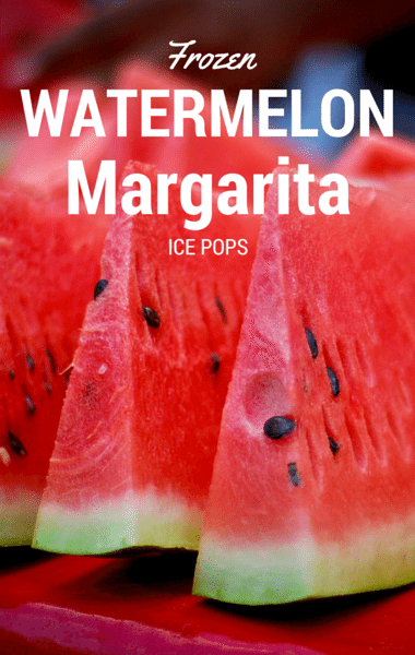 Rachael Ray's Frozen Watermelon Margarita Ice Pops were the ...