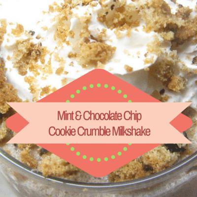 Rachael Ray: Lactose-Free Mint & Chocolate Chip Cookie Milkshake