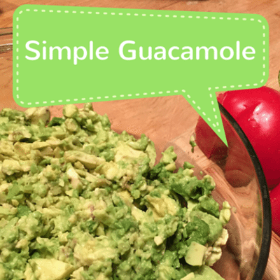 Rachael Ray: Anne Burrell Super Simple Guacamole Recipe