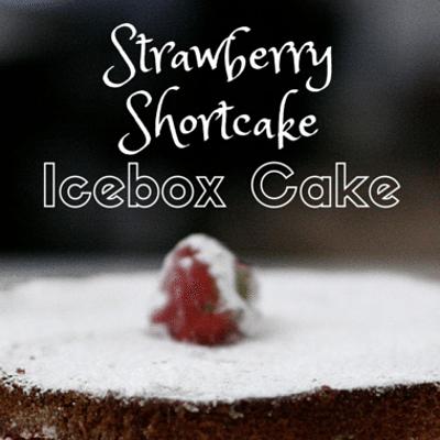 Rachael Ray: Strawberry Shortcake Icebox Cake Recipe