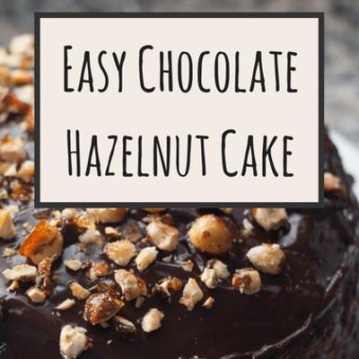 The Chew: Simple Chocolate Hazelnut Cake Recipe