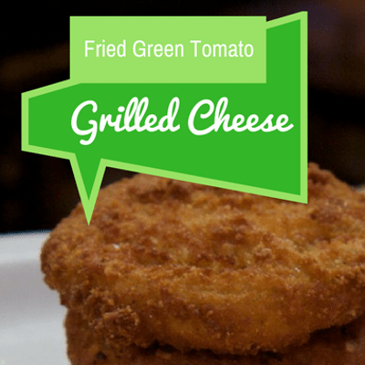The Chew: Fried Green Tomato Grilled Cheese Recipe