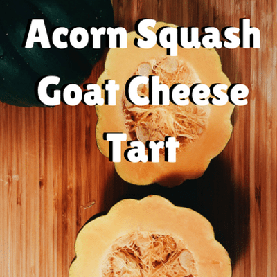 The Chew: Acorn Squash Goat Cheese Tart Recipe