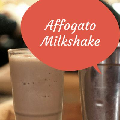 The Chew: Affogato Milkshake Recipe