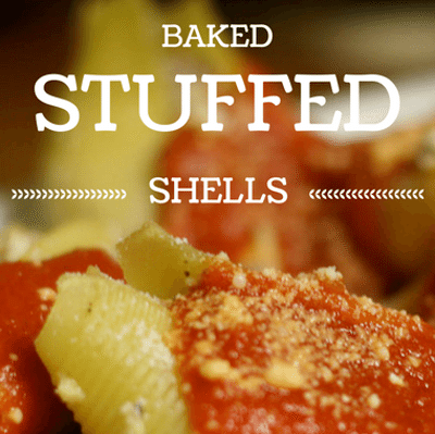 The Chew: Baked Stuffed Shells Recipe