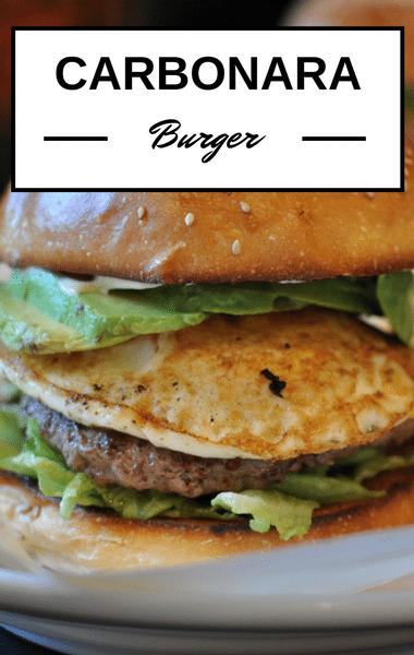 Rachael Ray: Carbonara Burgers Recipe