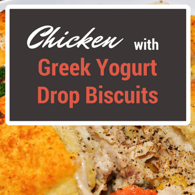 The Chew: Chicken With Greek Yogurt Drop Biscuits Recipe