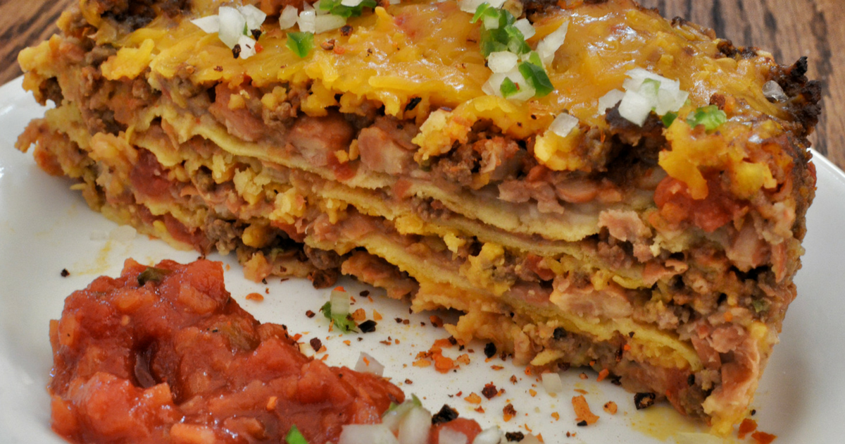 Rachael Ray: Jake Smollet Chicken Taco Lasagna Recipe